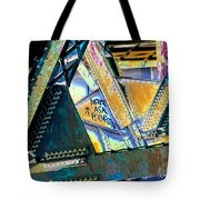 Never Ask Permission Tote Bag