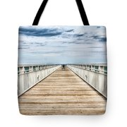 Never Ending Beach Pier Tote Bag