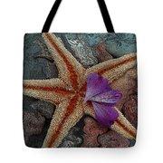Never Forgotten- Starfish Art Tote Bag