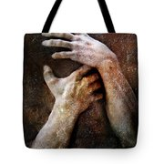 Never Let Go Tote Bag