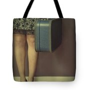 Never To Look Back Tote Bag by Evelina Kremsdorf