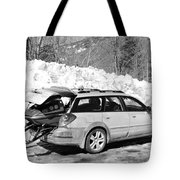 Never Without A Ride Tote Bag