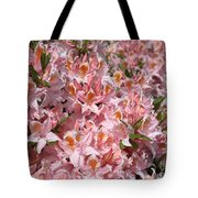 Neverending Azaleas Tote Bag