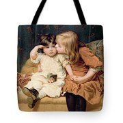 Nevermind Tote Bag by Frederick Morgan