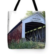 Nevins Covered Bridge Indiana Tote Bag