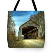 Nevins Covered Bridge Tote Bag