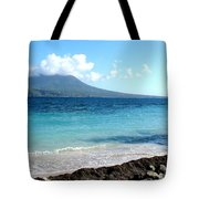 Nevis Across The Channel Tote Bag