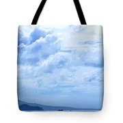 Nevis From The Roof Top Tote Bag