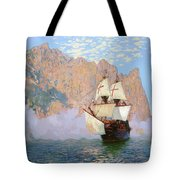 New Albion. Sir Francis Drakes Ship Tote Bag