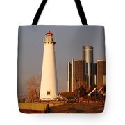 New And The Old Tote Bag by Michael Peychich