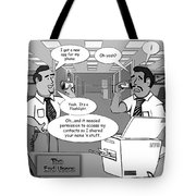 New App Tote Bag