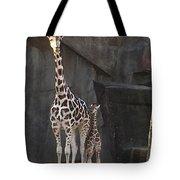 New Baby Giraffe Tote Bag