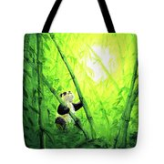 New Bamboo Leaves Tote Bag