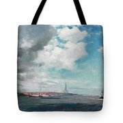 New Brighton From The Mersey Tote Bag
