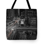 New Buildings On Old Streets Tote Bag