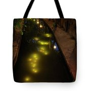 New Canal In Utrecht In The Evening 7 Tote Bag