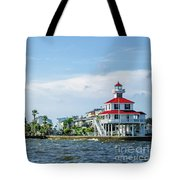 New Canal Lighthouse And Lakefront - Nola Tote Bag