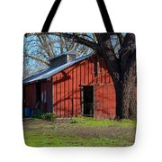 New Clairvaux Abbey Barn Tote Bag