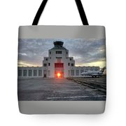 New Dawn For An Old Airport Tote Bag