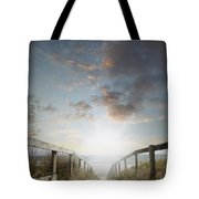 New Day At The Beach Tote Bag