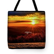 New  Day  Dawns Tote Bag