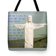 New Day In The Lord Tote Bag