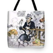 New Deal: Supreme Court Tote Bag