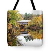 New England Covered Bridge No.63 Tote Bag