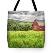 New England Farm Landscape Tote Bag