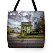 New England Home 3  Tote Bag