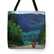 New England Journeys - Motorcycle 2 Tote Bag