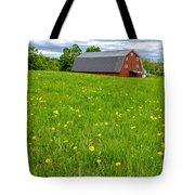 New England Landscape Tote Bag