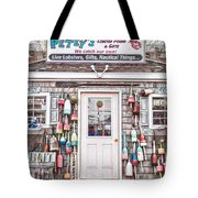 New England Lobster Pound Tote Bag