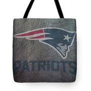 New England Patriots Translucent Steel Tote Bag