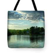 New England Scenery Tote Bag