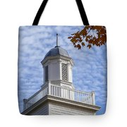 New England Steeple - Ridgefield, Connecticut Tote Bag