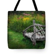 New England Summer Rustic Tote Bag