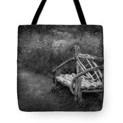 New England Summer Rustic Bw Tote Bag