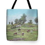 New Forest Lyndhurst Hampshire Tote Bag