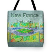 New France Mug Shot Tote Bag