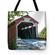 New Germantown Covered Bridge Tote Bag