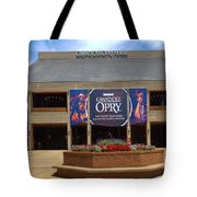 New Grand Ole Opry House Tote Bag
