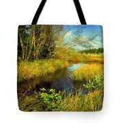 New Growth At The Pond Tote Bag