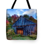 New Hampshire Barn Eaton Nh Tote Bag