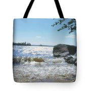 New Hampshire Lake Gale Tote Bag