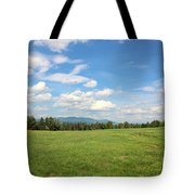New Hampshire Mountain Meadow Tote Bag