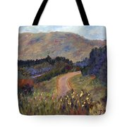 New Hampshire Road Tote Bag