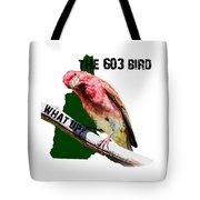 New Hampshire State Bird The Purple Finch Tote Bag