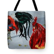 New Harmony Roosters Tote Bag