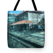 New Jersey From The Train 3 Tote Bag